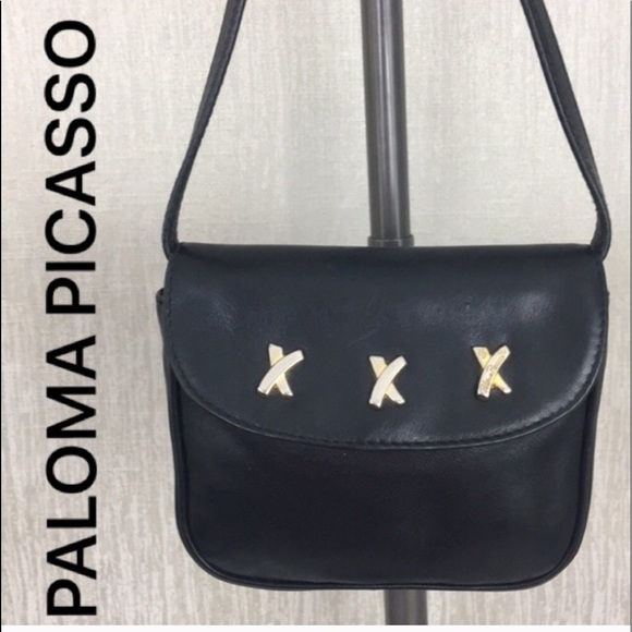 Paloma Picasso Handbags - 👑PALOMA PICASSO VINTAGE CROSSBODY 💯AUTHENTIC